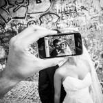 Свадебная фотосессия в урбанистическом стиле