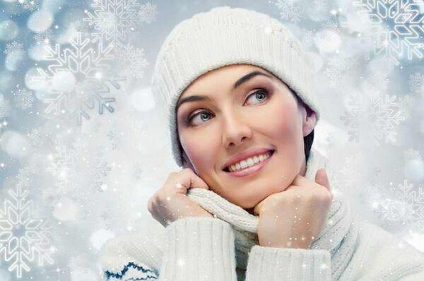 Секреты ухода за кожей лица в зимнее время