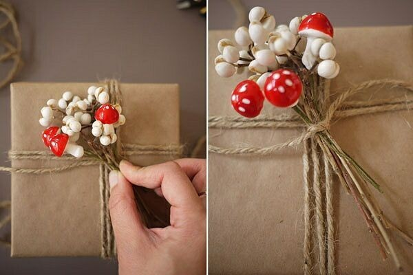 Новогодняя подарочная упаковка своими руками из бумаги