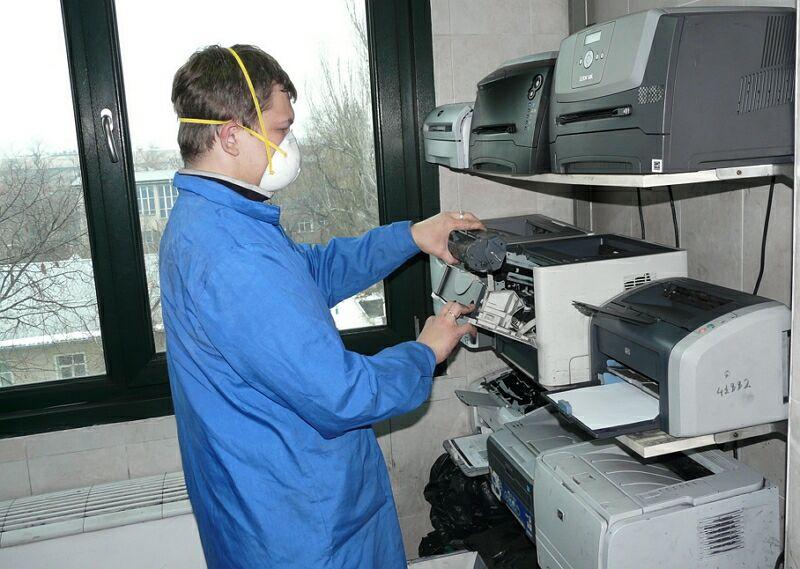 Как в домашних условиях заправлять картриджи для принтера 929