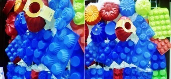 пластмассовые формы для выпечки