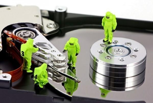 ремонт жёсткого диска