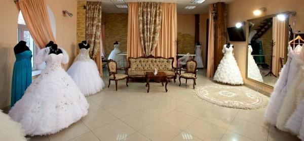 холл свадебного салона