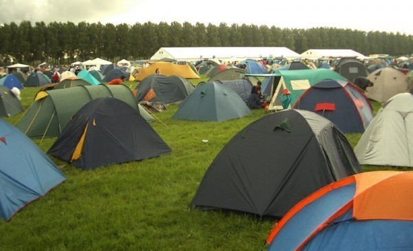 стандартные современные палатки