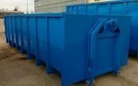 Мусорные контейнеры в производстве