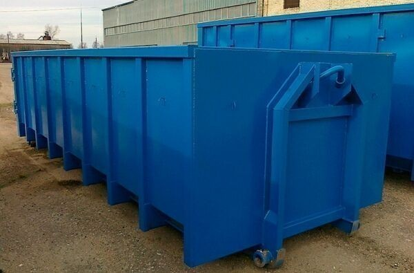 крупные мусорные контейнеры