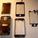 Сбор дисплеев телефонов в сервисных центрах и их дальнейшая продажа