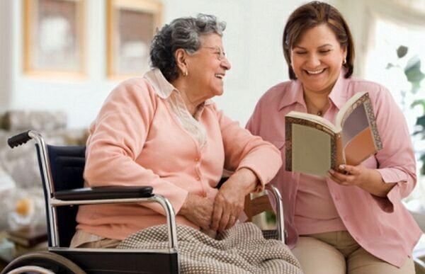 сиделка для пристарелых