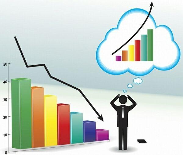 падение и рост за счёт поведенческих факторов