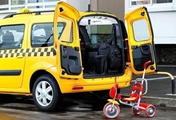 такси с возможностью погрузки