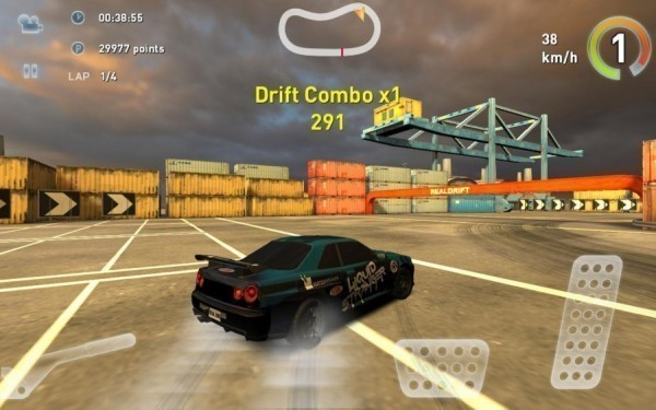 Пример игры гонки на андроид