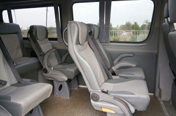 Салон микроавтобуса