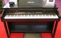 Детали цифрового пианино под пристальным взглядом