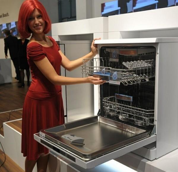 не встраиваемая посудомоечная машина