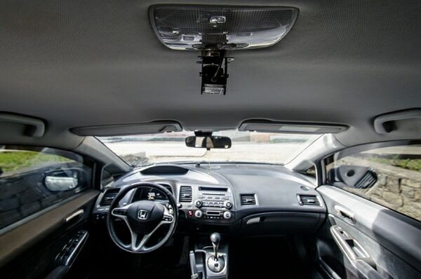 Автомобильное видеонаблюдение в действии