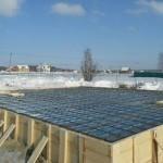 Особенности зимнего бетонирования