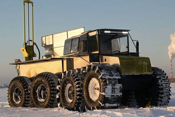 Буровые установки на базе снегоболотохода Тром-8