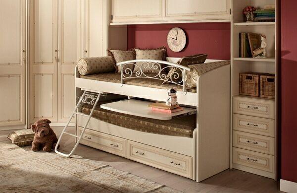 Двухъярусные выдвижные кровати