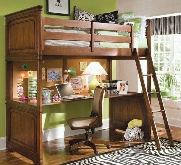 Как сэкономить место в детской