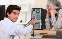 помощь специалиста в ремонте компьютера