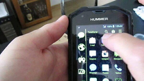 защищенный смартфон Hummer H5