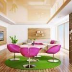 Тонкости ремонта: преимущества натяжных потолков