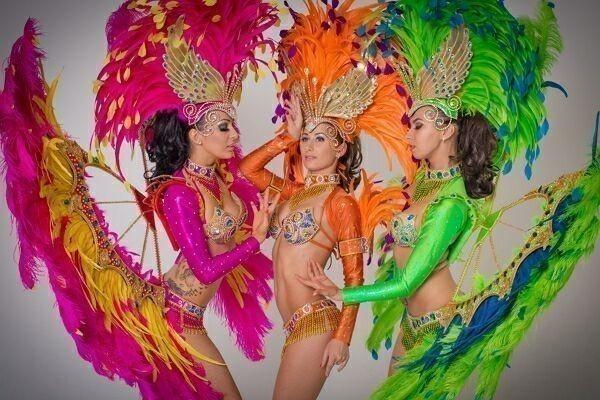 Бразильские танцы на праздник