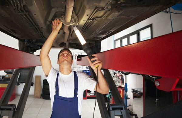 ремонт выхлопной трубы
