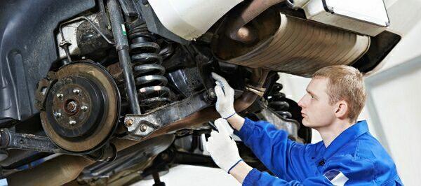 ремонт глушителя авто