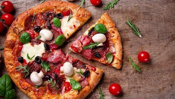 доставка еды пицца