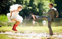 дождь на свадьбе