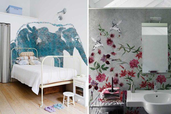 Дизайн панелей и эффекты сантехники от Wall&Deco