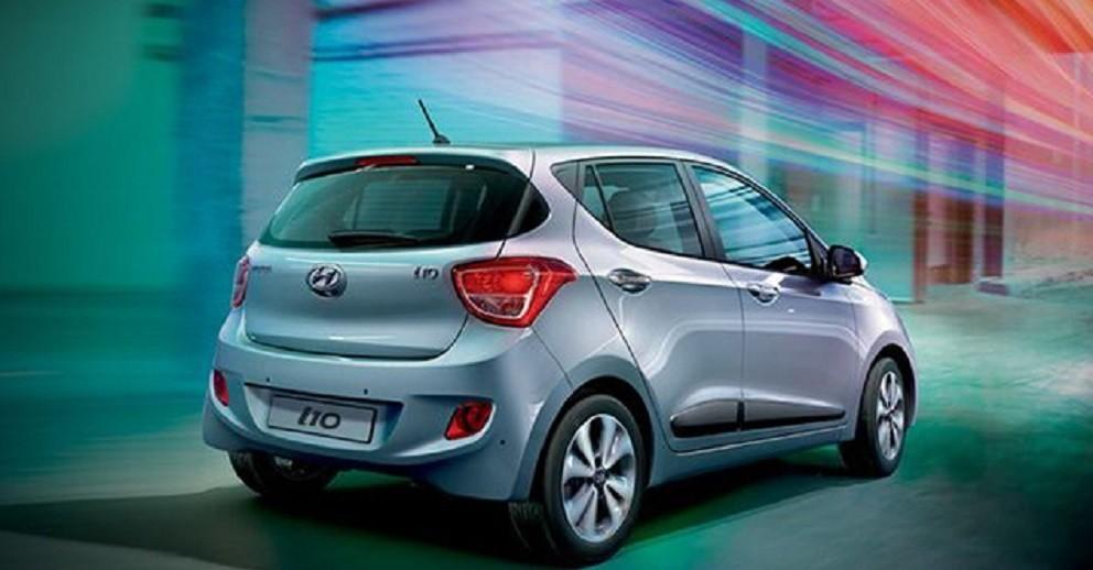 Hyundai i10 малолитражка