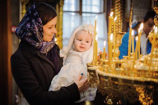 Фотограф на крещение ребенка в Москве