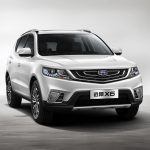 Обзор Geely Vision X6