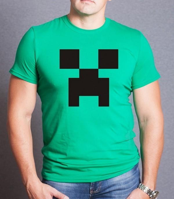 футболки майнкрафт