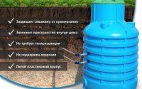 Кессон для автономного водоснабжения дома