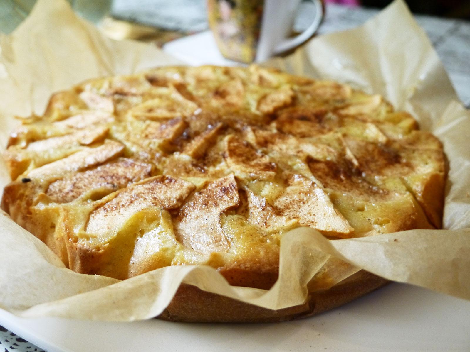 рецепт шарлотки классической с яблоками с фото
