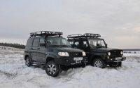 УАЗ Hunter и Patriot сравнение