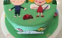 Почему популярны кондитерские изделия по мотивам мультфильма «Маленькое королевство Бена и Холли»
