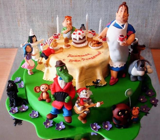 Самые необычные торты