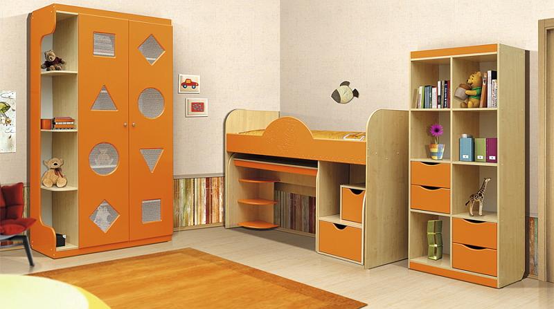 модульная детская мебель 2