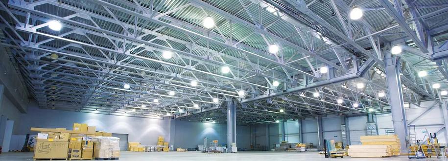 Доля чего нужны промышленные светильники