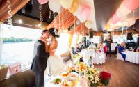 Тематическая свадьба на теплоходе