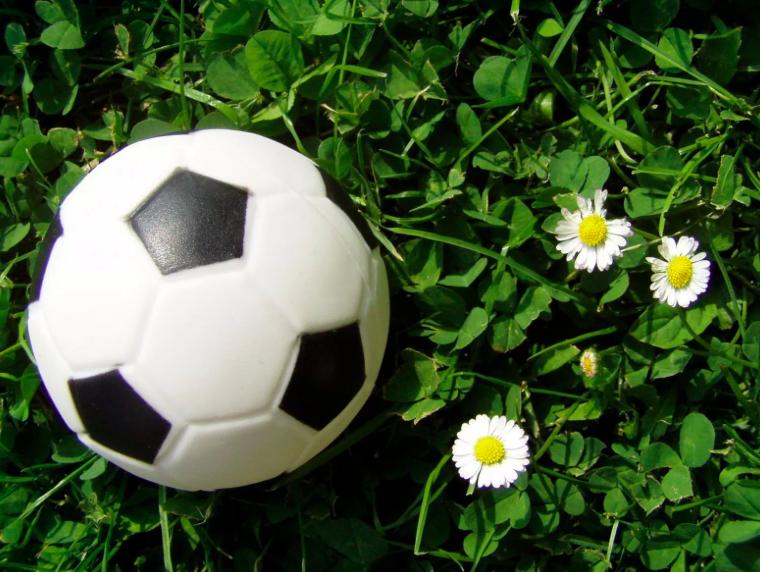 Твой первый футбольный мяч