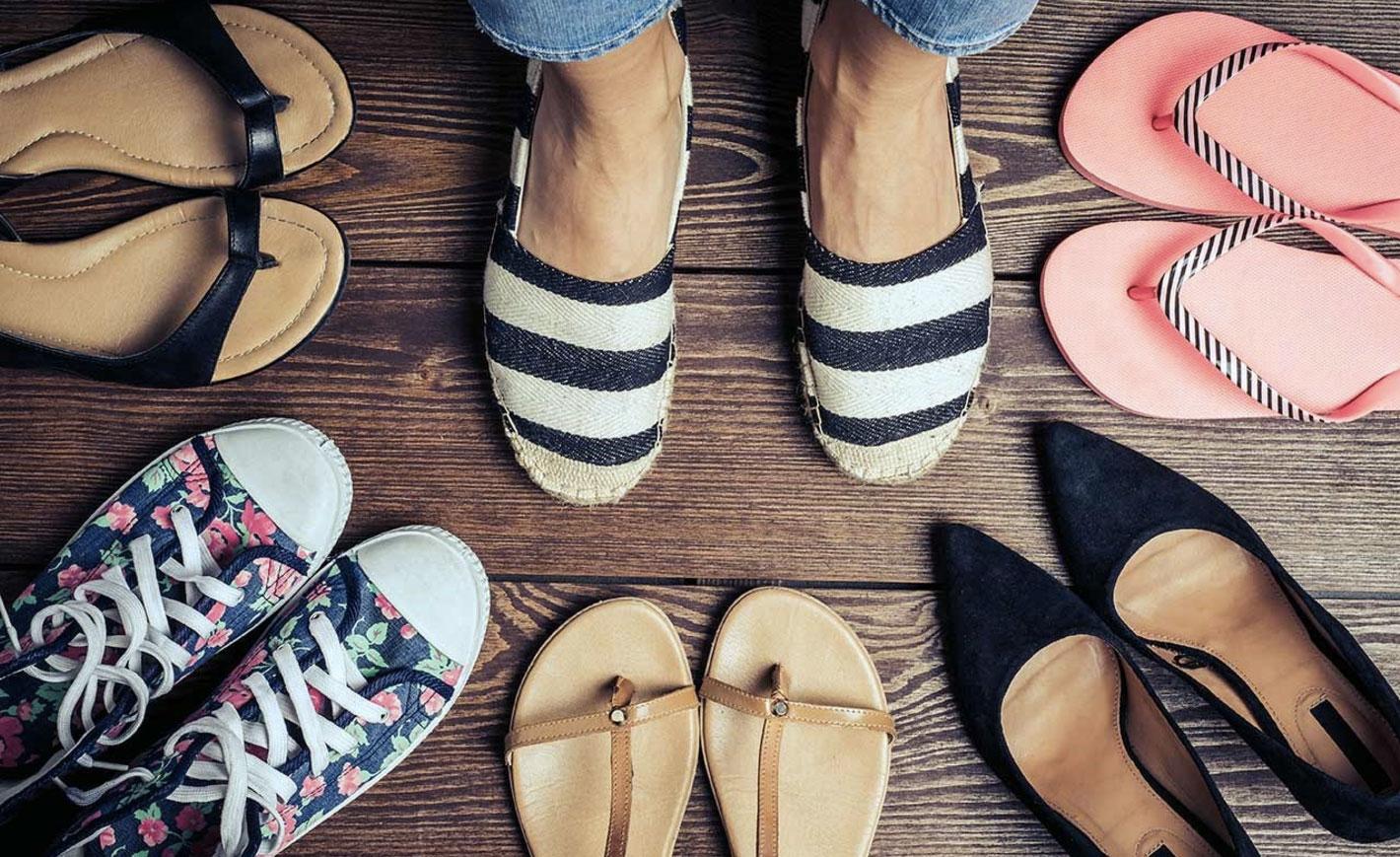Какая самая удобная обувь на лето