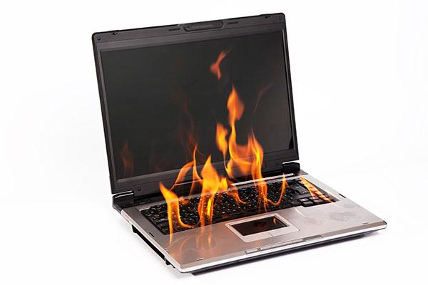 Типичные неисправности ноутбуков: перегрев, его признаки и причины