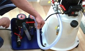 Промывка инженерной системы при замене теплоносителя