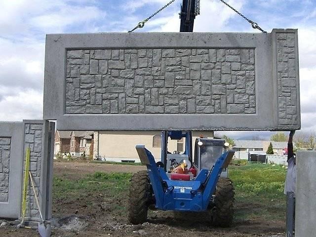 Изготовление бетонных заборов: на что важно обратить внимание
