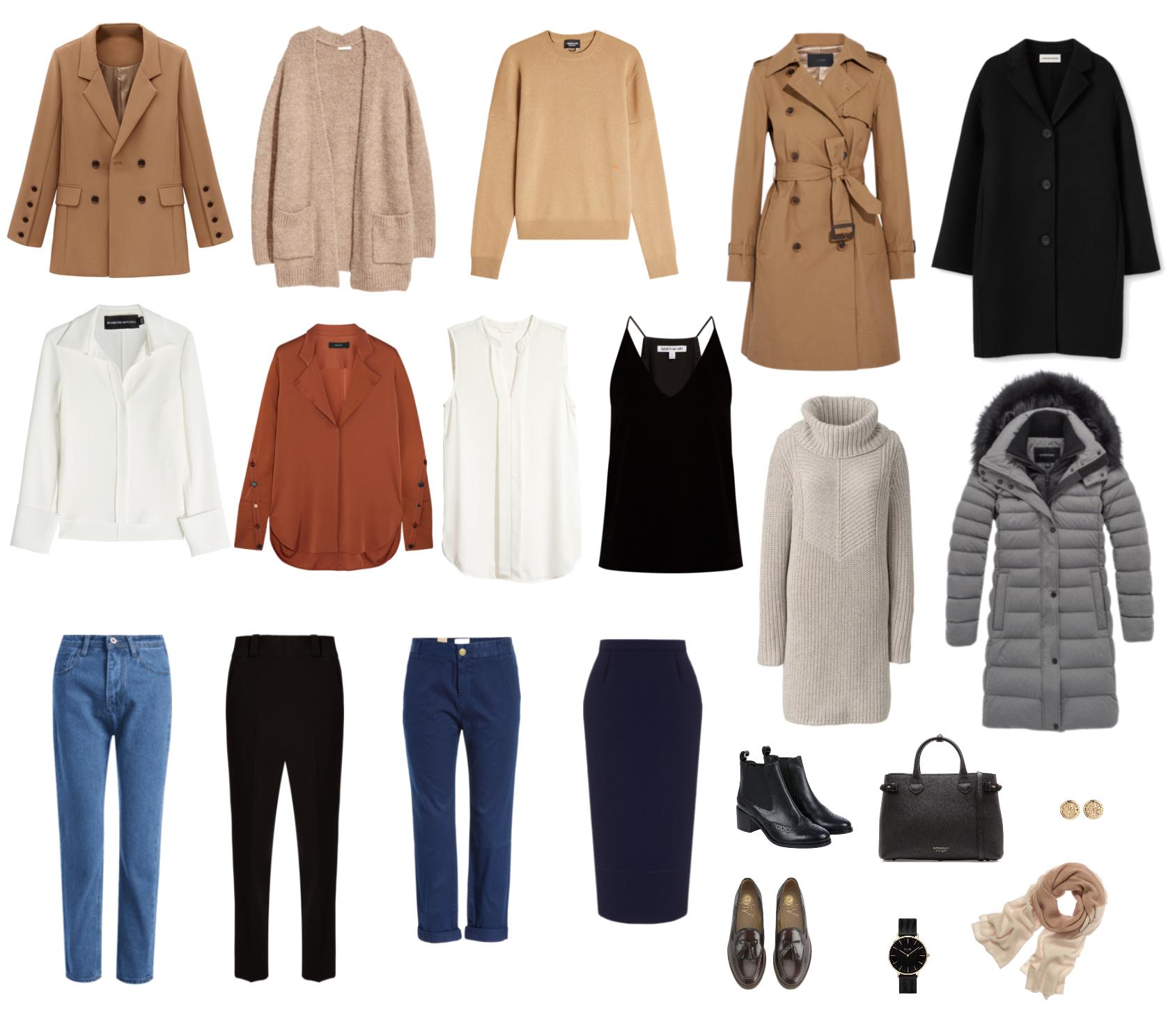 Капсульный гардероб для женщин, особенности, выбор с промокодом Остин